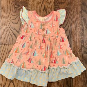 Matilda Jane 18-24 dress with built in bloomer